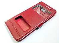 Чохол книжка з віконцями momax для Samsung Galaxy J5 Prime g570f червоний