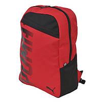 Рюкзак спортивний Puma pioneer 074714 05 (червоний, відділення для планшетів /ноутбуків, 24 літри, логотип пума)