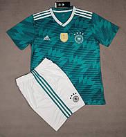 Футбольная форма сборной Германии выездная 2018-20