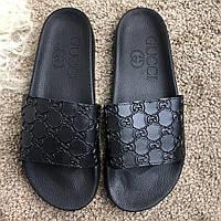Шлепанцы мужские Gucci 18011 черные