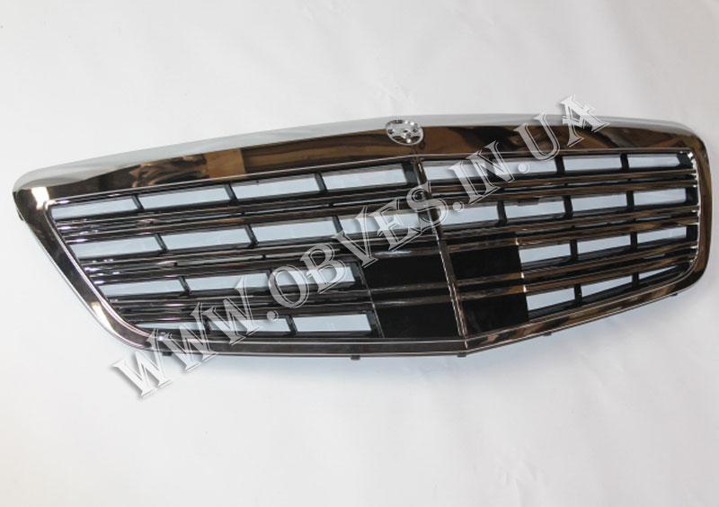 Решетка радиатора Mercedes S-class W221 стиль AMG S63 S65