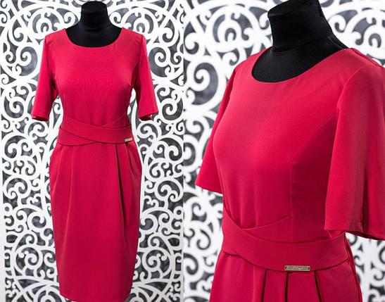 Красивое женское платье ткань *Костюмная* 50, 52, 54, 60 размер батал, фото 2