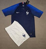 Футбольная форма сборной Франции домашняя 2018-20
