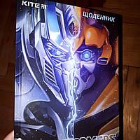 Дневник школьный Transformers украинский язык, фото 1