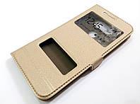 Чохол книжка з віконцями momax для LG G5 золотий, фото 1