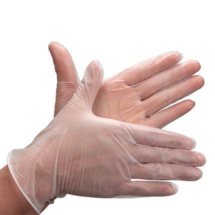 Перчатки виниловые, смотровые, неопудренные, нестерильные Care 365