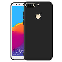 Силіконовий TPU чехол JOY для Huawei Y7 Prime 2018 чорний