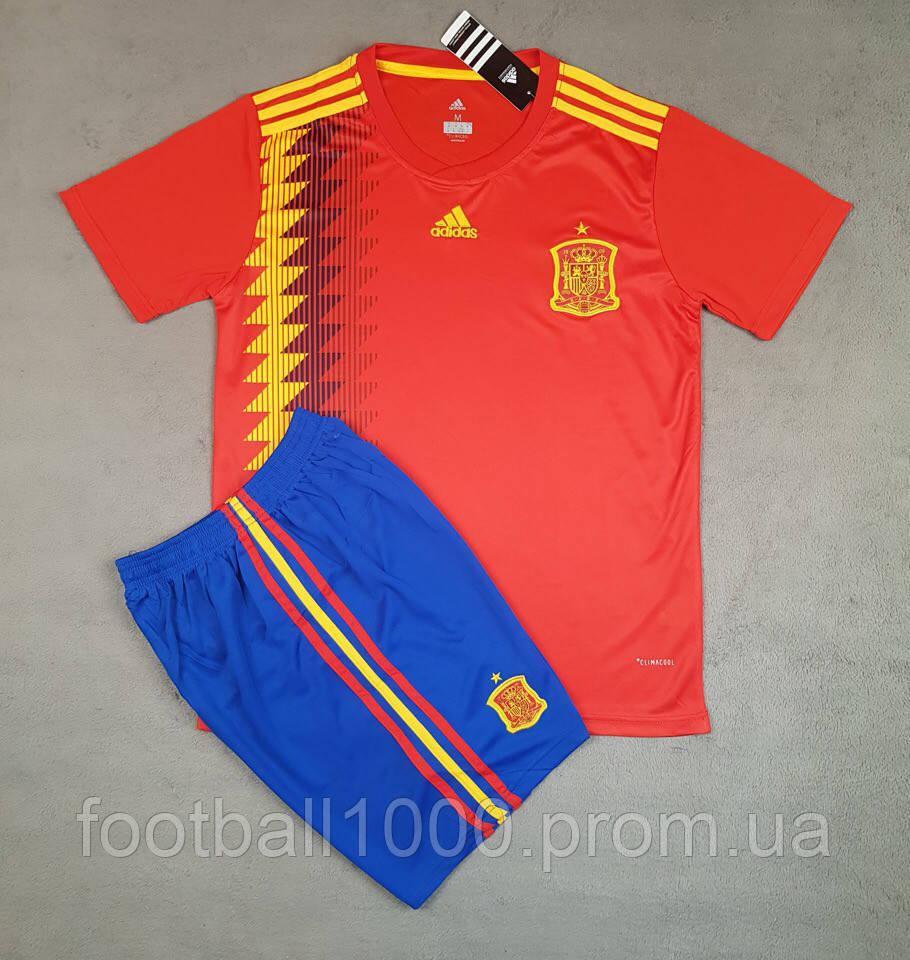 Футбольная форма сборной Испании домашняя 2018-20