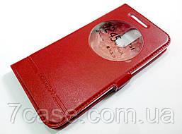 Чехол книжка с окошком Momax для LG K8 2017 x240 красный
