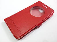 Чохол книжка з віконцем momax для LG K5 x220ds червоний