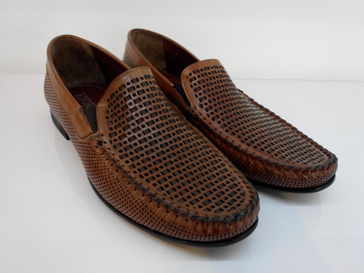 Мокасины Etor 11441-1719-89-1 41 коричневые