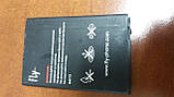 Акумулятор Fly IQ445 Genius (1600mAh) BL7201 б\у, фото 2