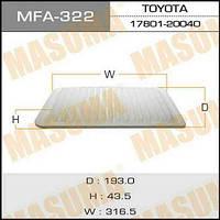 Воздушный фильтр TOYOTA HIGHLANDER,CAMRY, LEXUS ES300, RX300, RX330, A-199 MASUMA (1/40)