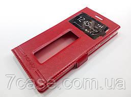Чехол книжка с окошками momax для Lenovo Vibe X2 красный
