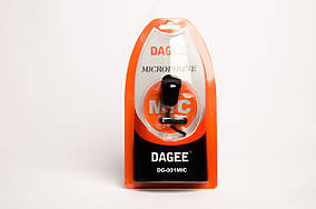 Микрофон петличный Dagee DG-001 MIC (box)
