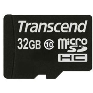 Карта памяти Transcend microSDHC 32 GB Class 10 без адаптера (TS32GUSDC10)