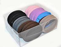 Разноцветные резинки для волос в наборе 20 шт
