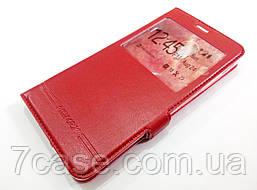 Чехол книжка с окошком momax для Lenovo Vibe P2 p2a42 красный