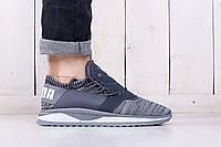 Летние мужские кроссовки сетка PUMA TSUGI SHINSEI B&W (реплика)