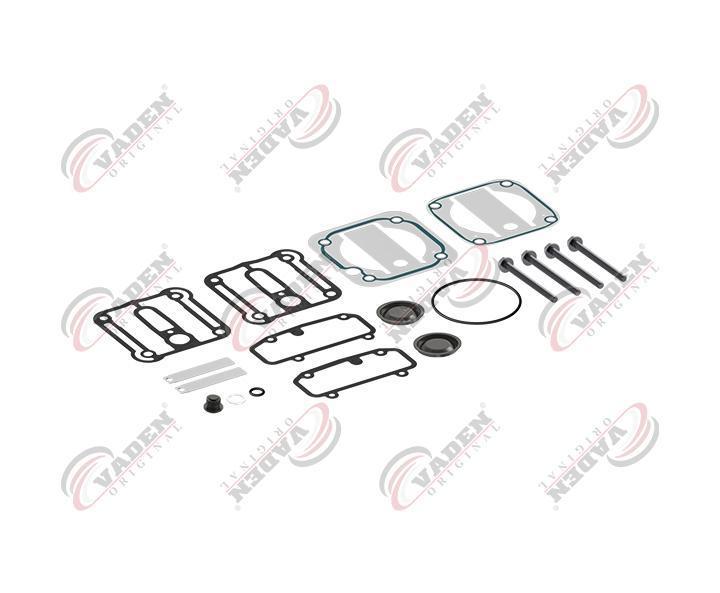 Ремкомплект прокладок с клапанами KNORR, MAN TGA старый тип с валом отбора мощности (SEB22564   1200010
