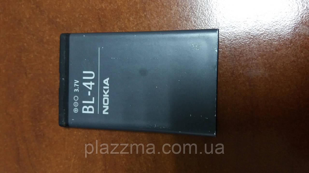 Аккумулятор для телефона Nokia BL-4U (1100 mAh)  б\у
