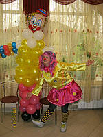 Организация детских праздников - клоун, фея, пират