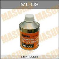 Клей для заплаток MASUMA ForTire /для ремонта камер/, 200ml