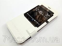 Чехол книжка с окошком momax для Meizu MX5 белый