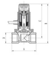 Устройство газового клапана