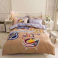 Комплект постельного белья НХЛ (двуспальный-евро) Berni
