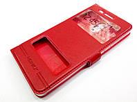 Чехол книжка с окошками momax для Nokia 6 красный, фото 1