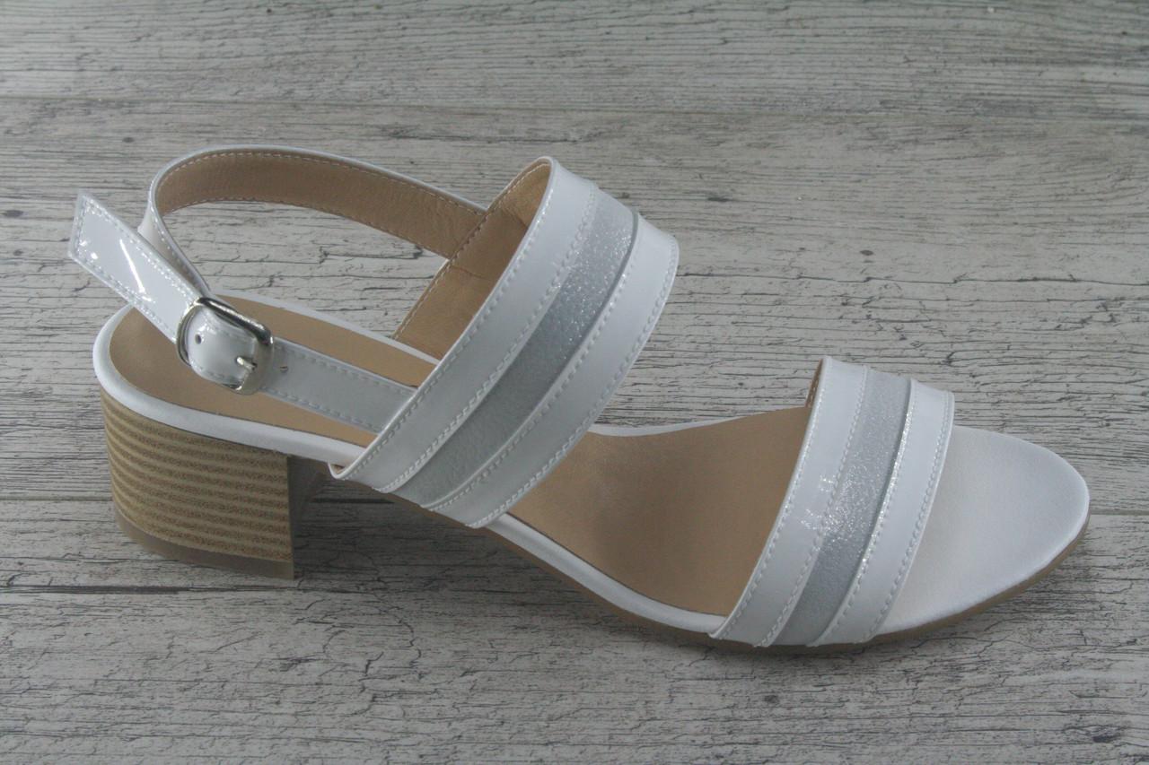 54bc79027 Босоножки, туфли, сабо на каблуке из натуральной кожи Foot Step, обувь  летняя,