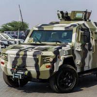 Український бронеавтомобіль KRAZ Cobra на основі Toyota Land Cruiser 200