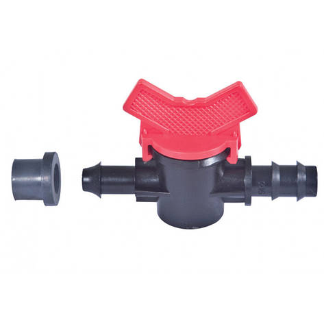 Кран стартовый с резинкой для слепой трубки d 16 мм, фото 2