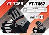 Перчатки рабочие из полиэстера размер 9/XXL, YATO YT-7467