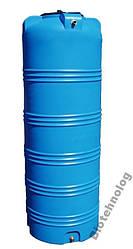 Дарим 170 грн на доставку. Емкость 750 литров бак, бочка пищевая узкая вертикальная 700 800 V