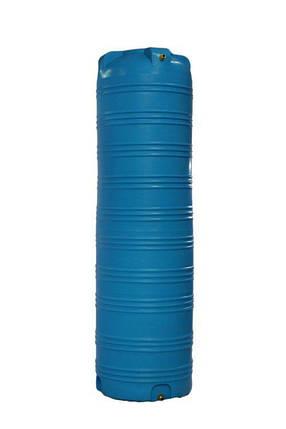 Дарим 240 грн на доставку. Емкость 1000 литров бак, бочка пищевая вертикальная узкая 990 V, фото 2