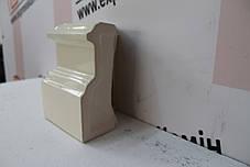 Цоколь кутовой «Гладкий» слоновая кость , фото 2
