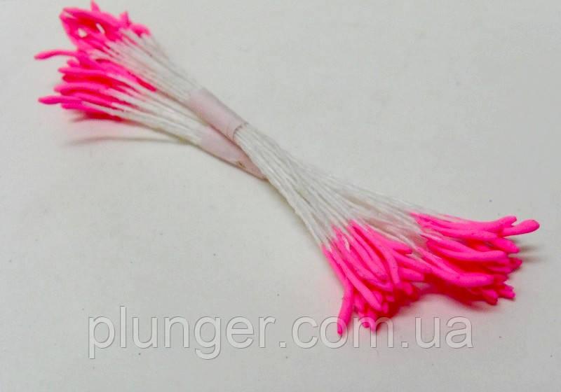 Тычинки длинные розовые для создания цветов