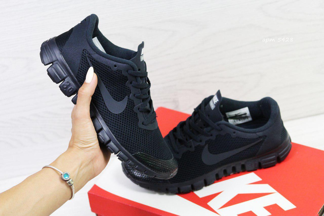 3fd31175 Кроссовки в стиле Nike Free 3.0 (темно синие) летние кроссовки найк nike  5428 -