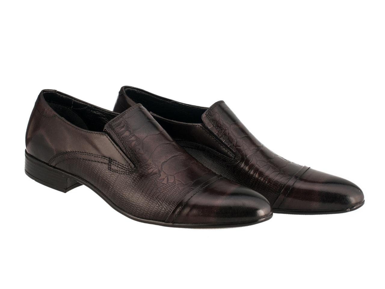 Туфлі Etor 10167-826 45 коричневі