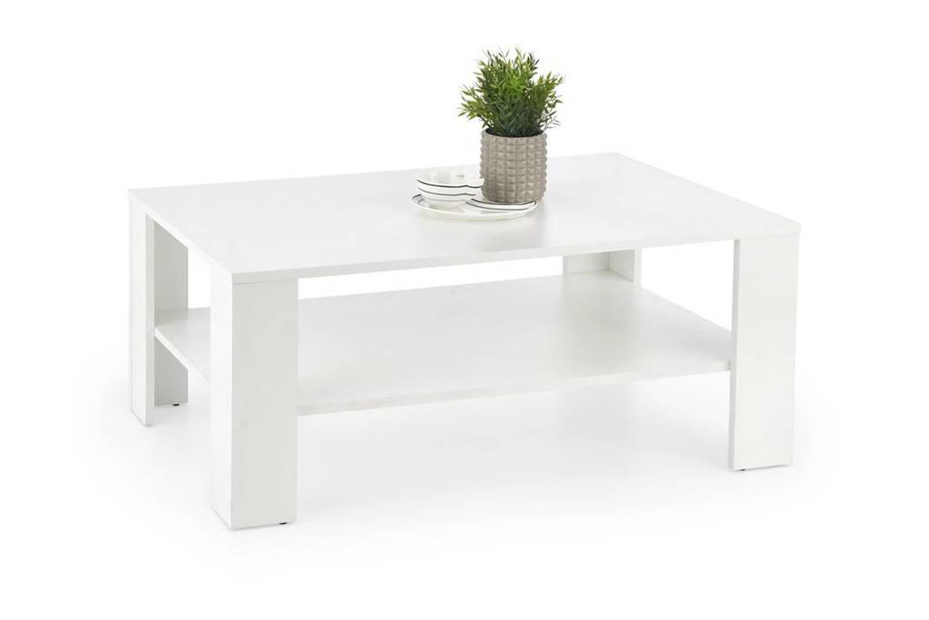 Журнальный столик KWADRO белый Halmar