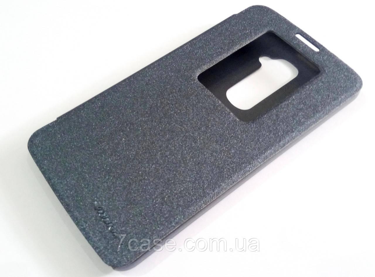 Чохол книжка Nillkin Sparkle Series для LG G2 чорний