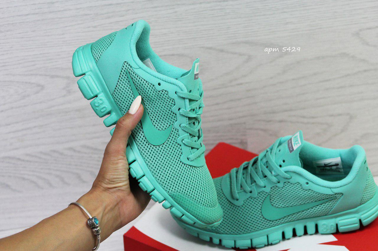 15823723 Кроссовки в стиле Nike Free 3.0 (мятные) летние кроссовки найк nike 5429 -  Интернет