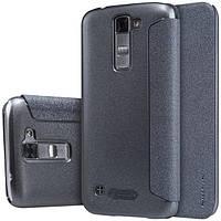 Чехол книжка Nillkin Sparkle Series для LG K7 x210 черный