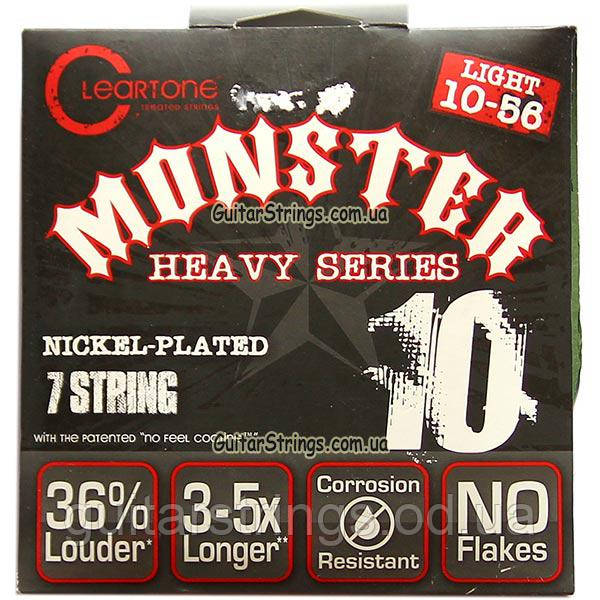 Струны Cleartone 9410-7 Light 7-String 10-56 Nickel-Plated Monster
