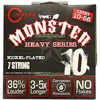 Струны Cleartone 9410-7 Light 7-String 10-56 Nickel-Plated Monster, фото 1