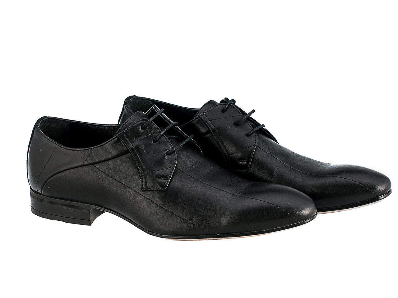 Туфлі Etor 6189-3013 40 чорні