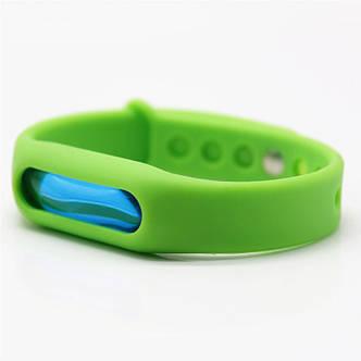 Антимоскитное средство KILNEX Силиконовый антимоскитный браслет, Зеленый (SUN0319), фото 2