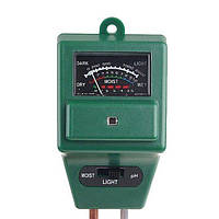 Walcom AMT-100 рН-метр/Вологомір/Люксметр для ґрунту